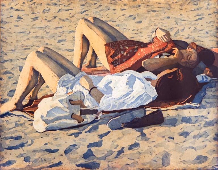 twee-meisjes-op-het-strand