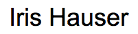 enlace iris hauser