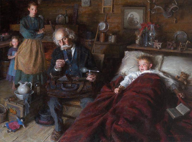 Morgan Weistling Oil Painting Homework Disc  Of